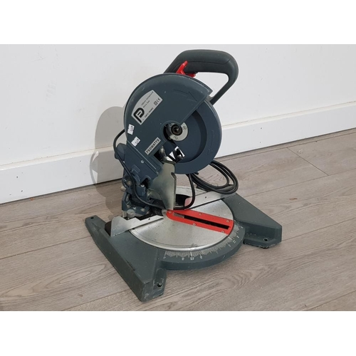 Electric 750 Watts compound mitre saw in good working condition