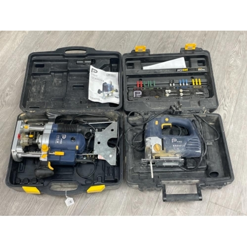 """Pro electric 1/2"""" Router and also Pro Jigsaw"""