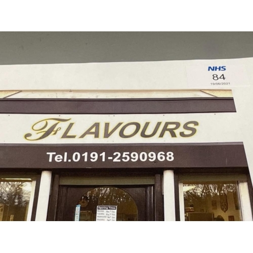 £40 voucher and free delivery @Flavours (North Shields)