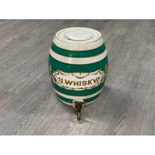 Salt glazed Whiskey barrel 1900s
