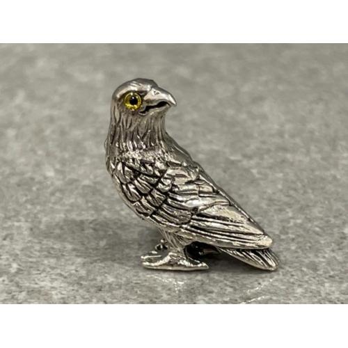 Sterling silver figure sold a bird of Prey