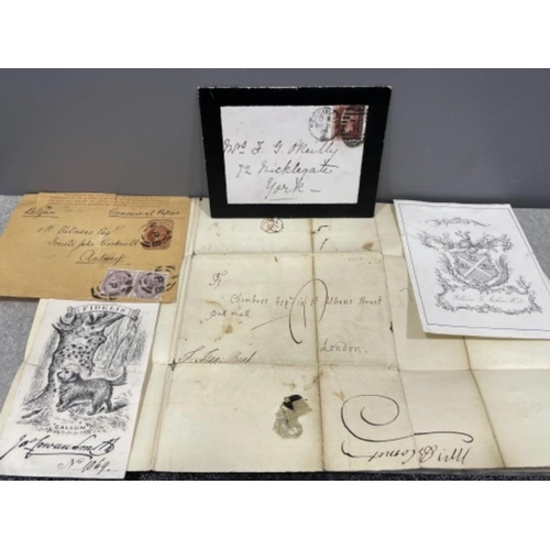 Victorian papers/letters