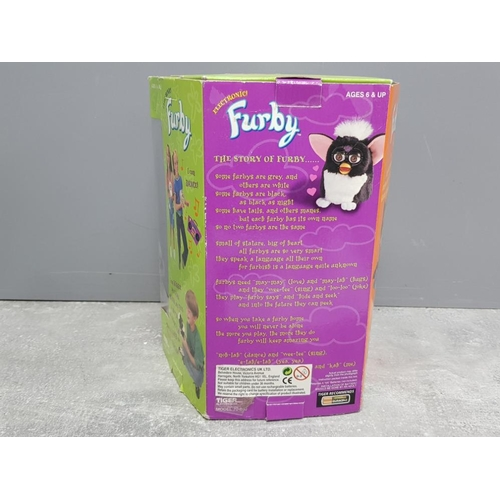 4 - Furby vintage toy by Tiger Electronics in original box with original set of instructions