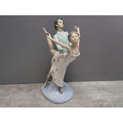 48 - Large Nao by Lladro figure 400 Dancing on a cloud