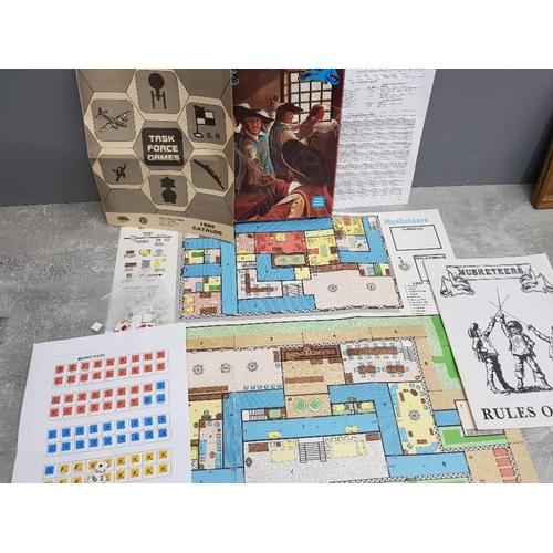56 - Vintage Musketeers adventure game by Task force games dated 1985, designer R. Vance Buck