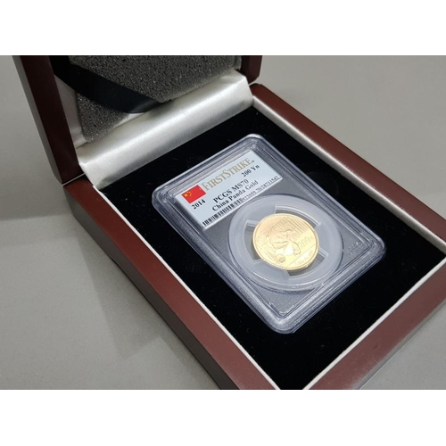 ½ OZ pure gold coin slabbed with original case