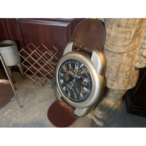149 - NEW BOXED LARGE WALL ART WATCH CLOCK (APPROX 120CM)