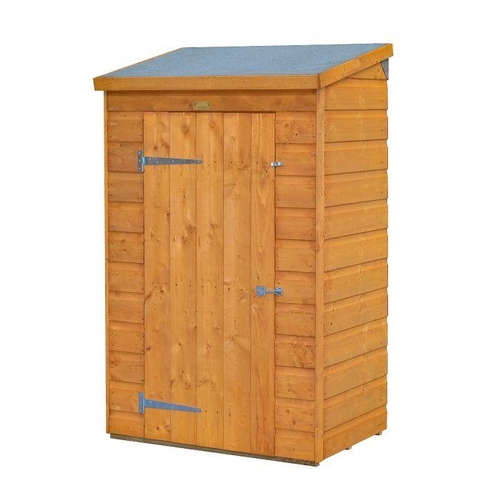 8 - NEW TREATED GARDEN WALL SHED MINI STORE 150CM X 970CM X 65CM