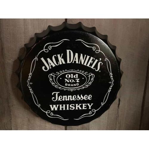 202 - 2 X TIN JACK DANIELS SIGNS