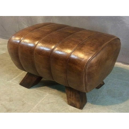 220 - NEW PACKAGED SMALL INDUSTRIAL STYLE POMMEL HORSE