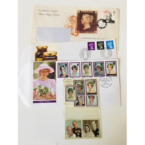6 - Selection of collectable stamps...