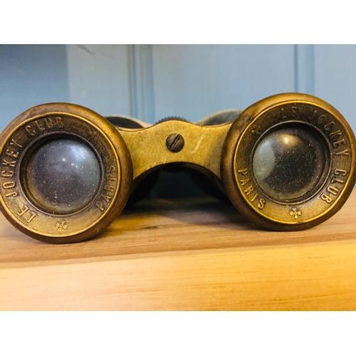 19 - Antique Le Jockey Club Binoculars...