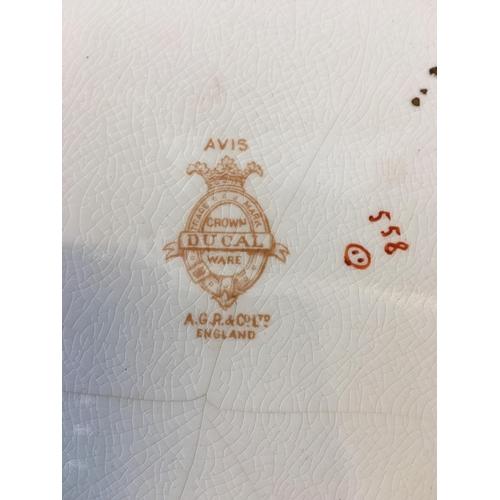 45 - Avis Crown Ducal Ware cake/pastry plate...