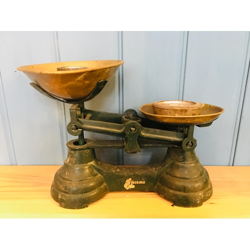 56 - Librasco Vintage Scales with weights...
