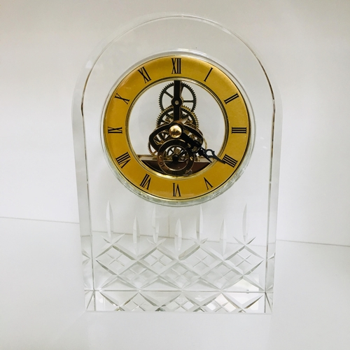 8 - Royal Scot Crystal - Greenwich - Large London Clock 17cm (Boxed)...