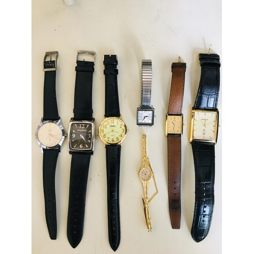 27 - Selection of Mens & Ladies watches...
