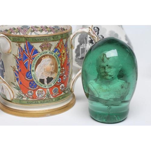 17 - OF CRIMEAN AND TRANSVAAL WAR INTEREST - a Samuel Alcock & Co. Hill Pottery (Burslem)