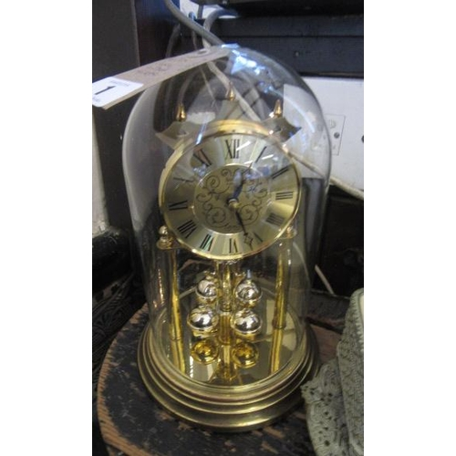 1 - ACCTIM MANTEL CLOCK AND DOME