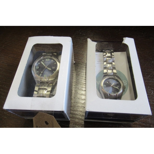 141 - HIS AND HERS SEKONDA WATCHES