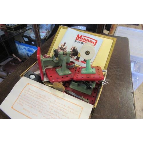 208 - BOX OF MAMOD ITEMS ETC...
