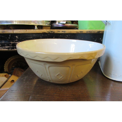 26 - BREAD BIN AND MIXING BOWL...