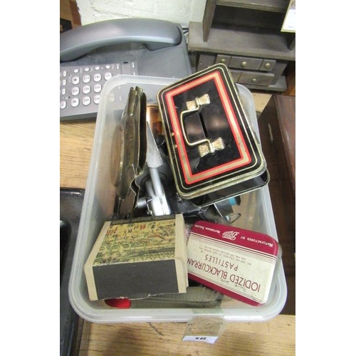 16 - BOX OF MISCELLANEOUS ITEMS