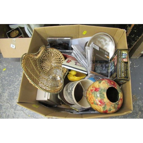 45 - BOX OF MISCELLANEOUS ITEMS