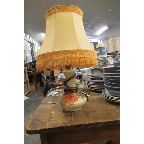 50 - MOORCROFT TABLE LAMP