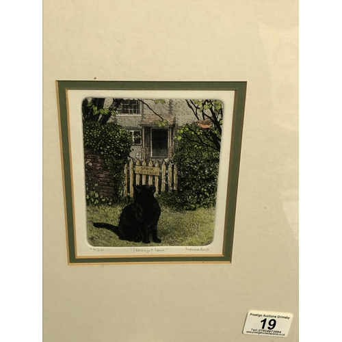 19 - I thought I saw by Laura Boyd limited edition print 11