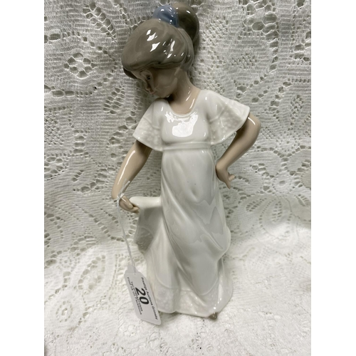 20 - NAO FIGURINE OF A GIRL 9