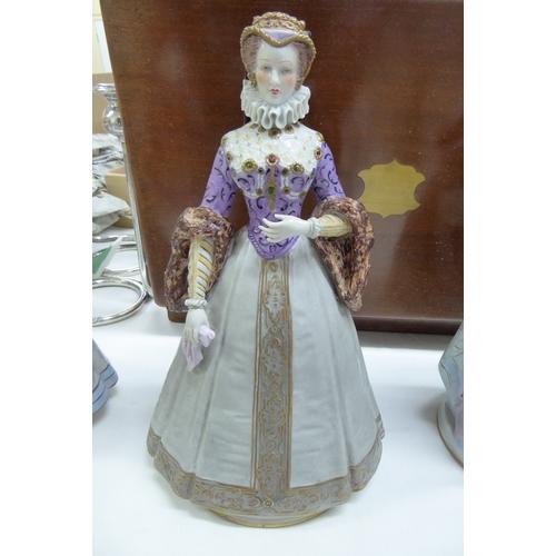 13 - Sitzendorf Elisabeth wife of Charles IX...