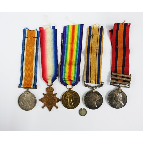 14 - South Africa Campaign Medal 1877 - 79 awarded to Levy Leader Mr W Gray, a Queens South Africa Medal ...
