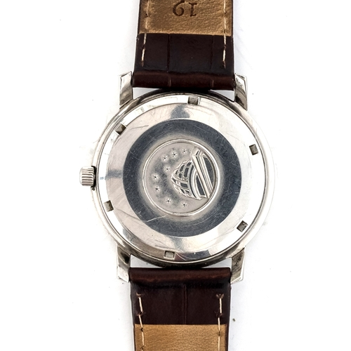 43 - A FINE GENTLEMAN'S STAINLESS STEEL OMEGA CONSTELLATION CHRONOMETER WRIST WATCH  CIRCA 1968, ref 168....