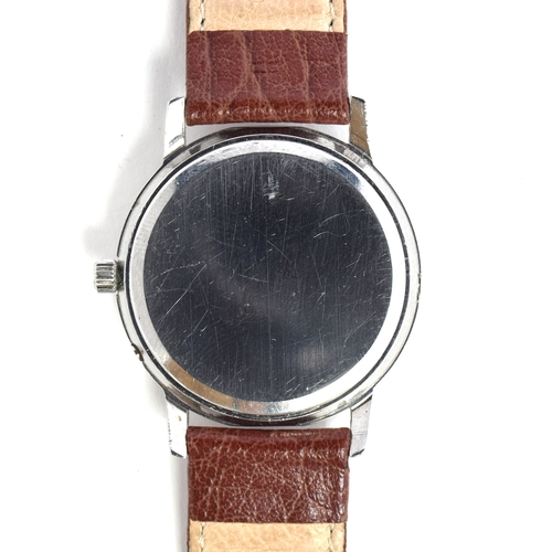 528 - AN OMEGA SEAMASTER QUARTZ Circa 1970s, silvered dial with raised baton markers, straight hands Movem...