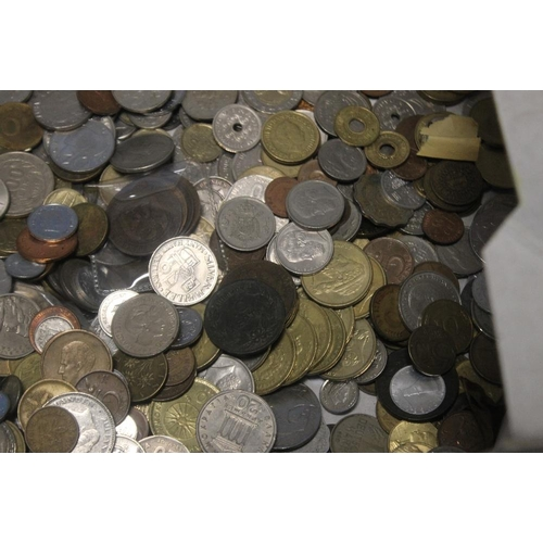 23 - A COLLECTION OF WORLD COINS