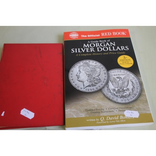 34 - US SILVER DOLLARS 1923 X 3, 1925 AND A 1995 1OZ ROUND, together with modern dollars etc