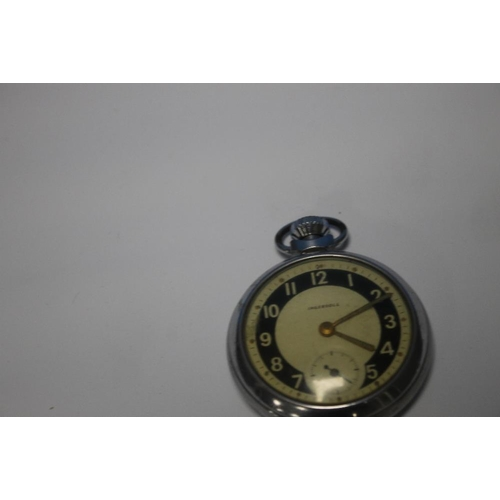 5 - TWO SMITHS STOPWATCHES, an Ingersoll pocket watch and one other  A/F  (4)