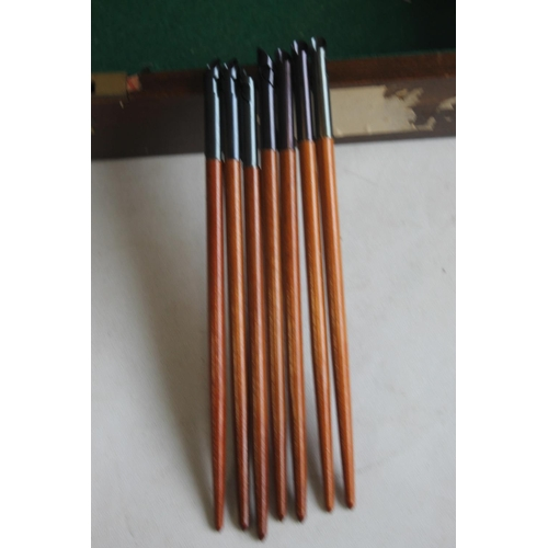 31 - A BOX OF ASSORTED BOXED PEN NIBS, to include examples by Geo, a football pen and a small quantity of...