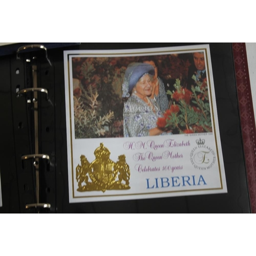 45 - ROYALTY INTEREST- A COLLECTION OF VARIOUS STAMP/COIN COVERS IN ALBUMS ETC, to include Prince Charles...