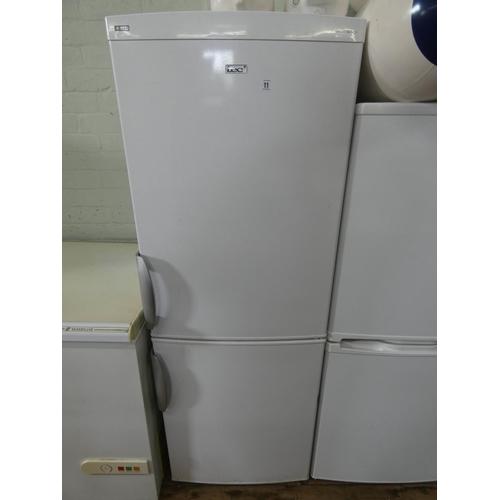 11 - An LEC half and half fridge freezer...