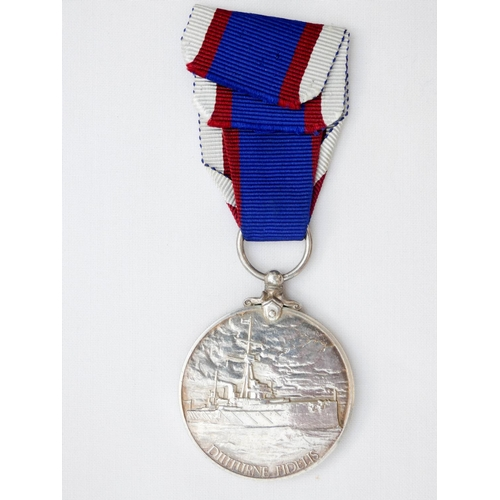 512 - The Royal Fleet Reserve Long Service and Good Conduct Medal George V, awarded to K. 17843 (CH.B.1533...