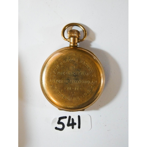 541 - A Great War military medal and bar awarded to 6498 Warrant Officer Class 2 S. Mitchell of the Royal ...