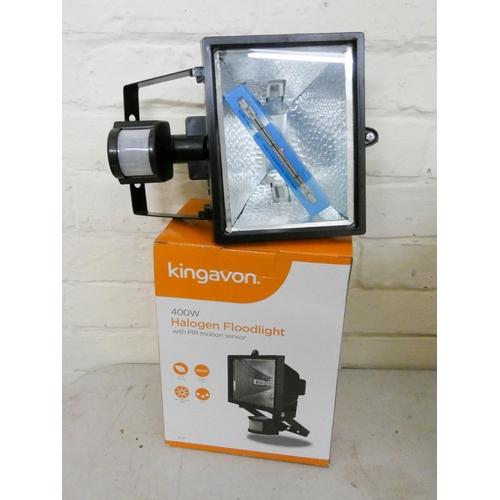 20 - A new 400 watt halogen floodlight...