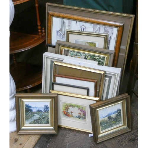 4 - A quantity of assorted paintings and prints...