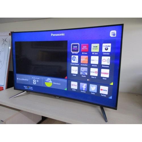 Panasonic Viera 55'' 4K Ultra HD Curved Design LCD Smart TV, Model