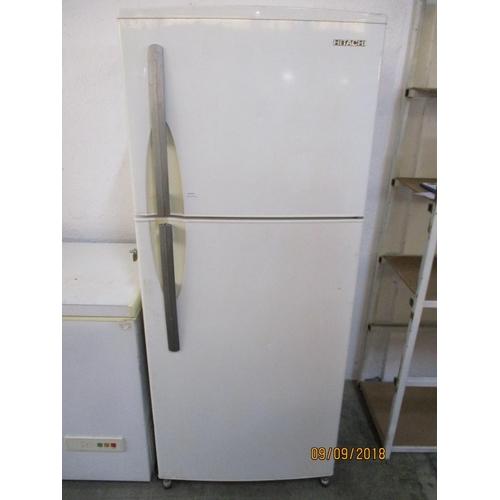 62 - Hitachi Fridge Freezer...