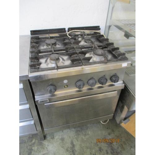 58 - Zanussi Commercial Oven & Hob...