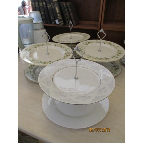 29 - Four Cake Stands...