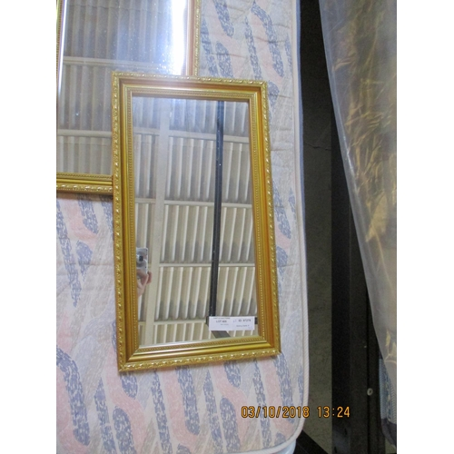 22 - Pair of Vintage Mirrors in Gilded Frame...