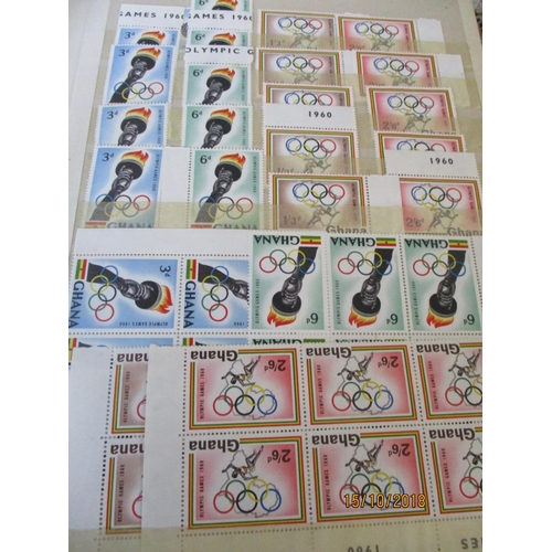 5 - Stamps Collection in 2 x Albums African Countries & Germany...